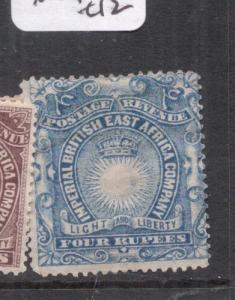 British East Africa SG 18 MOG (9dlh)