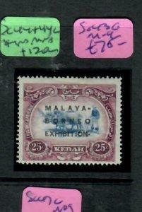 MALAYA KEDAH   (PP2204B)  MBE 25C SG 43C     MOG