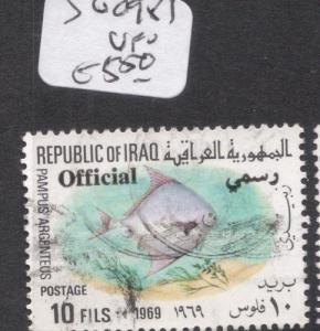 Iraq Fish SG O981 VFU (2dhj)