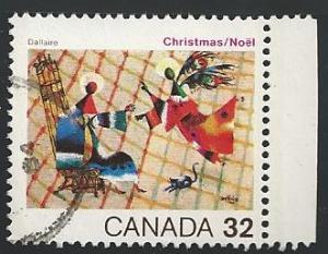 Canada #1040 32¢ Christmas - The Annunciation