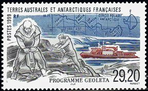 Scott #256 Geoleta Program MNH