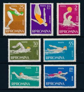 [42714] Romania 1963 Water Sports Swimming MNH