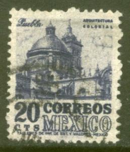 MEXICO 860, 20c 1950 Definitive wmk 279 Used (289)