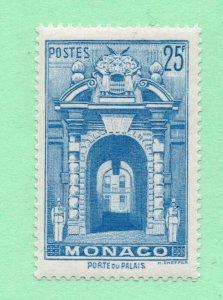 Monaco - Sc# 230 MLH / 25Fr Blue  -   Lot 0720506
