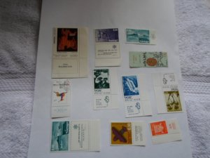 ISRAEL STAMPS MIXED CON. LOT OF 11 STAMPS. # 30
