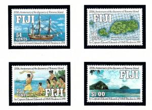 Fiji 641-44 MNH 1991 Disc of Rotuma Island Anniv