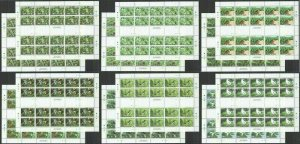 MV 2013 TONGA FAUNA BIRDS 12 FULL SH (20SET) !!! MICHEL 1060 EURO MNH
