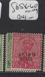 INDIA JIND   (PP0807B)  KGV 3P-1A  SG 58-60   MOG