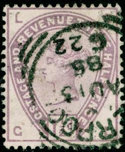 SG188, 1½d lilac, USED. Cat £42. GL