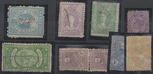 Australia States Revenues, Mixed Group, 35 Stamps, Used