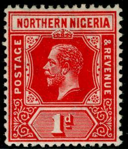 NORTHERN NIGERIA SG41, 1d red, LH MINT.