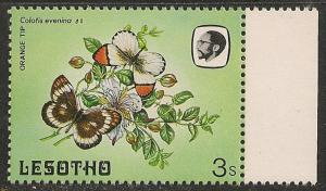 Lesotho #423 (SG #565) VF MNH - 1984 3s Butterfly