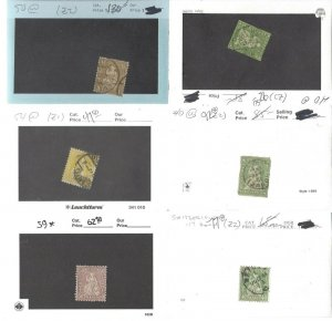 Switzerland Early Collection on 102 cards CV $3300++