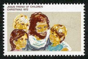 Australia SG530a 1972 7c Christmas Brown Red Omitted (Australia 7c) U/M