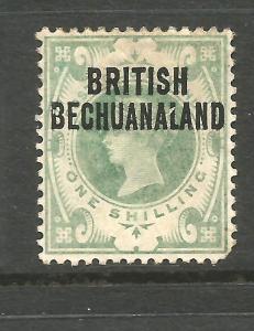BRITISH BECHUANALAND  1891-04  1/-  QV  MLH  SG 37