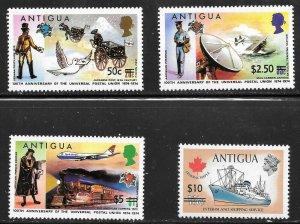 Antigua  (1974)  - Scott # 365 - 368, MNH