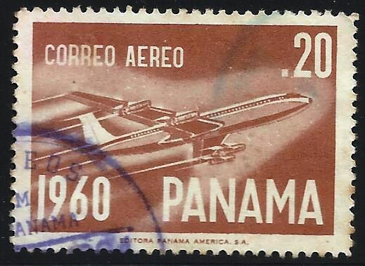 Panama 1960 Air Mail Scott# C242 Used