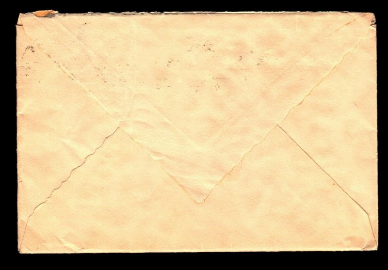 France SC# 370 on Cover to USA / Single Franking - L11256