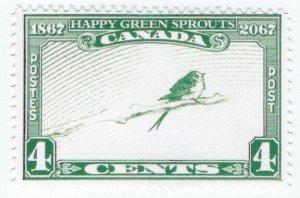 (I.B) Canada Cinderella : Rheostatics 4c (Happy Green Sprouts)