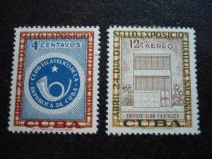 Stamps - Cuba - Scott#570 & C156 - MNH Set of 2