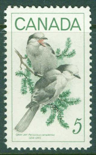 CANADA Scott 478 MNH** Gray Jay Bird stamp 1968
