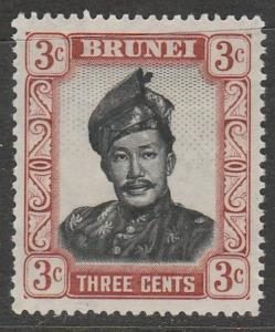 Brunei  1952  Scott No. 85  (N*)