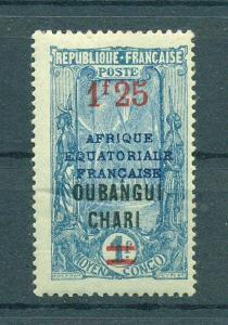 Ubangi-Shari sc# 76 mh cat value $1.40