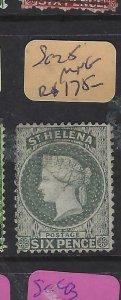 ST HELENA  (P0705BB)  QV  6D      SG 25      MNG