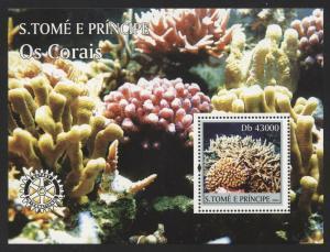 St Thomas 2004 Sea Corals S/S set NH