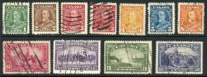 Canada 217-226 Used