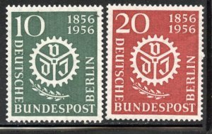 Berlin # 9N140-1, Mint Hinge Remain. CV $ 5.00