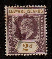 Leeward Islands #22  Used  Scott $4.50