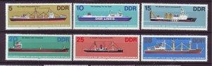 J25341 JLstamps 1982 germany DDR mnh set #2272-7 ships