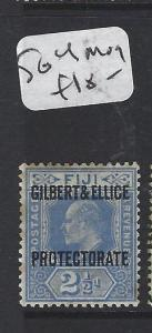 GILBERT AND ELLICE ISLANDS (P1804B)  KE  2 1/2D  SG 4   MOG