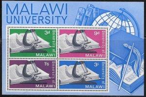 MALAWI,36A, MNH, SS OF 4, MALAWI UNIVERSITY