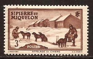 St Pierre & Miquelon  #  173  Mint