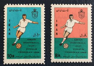 Middle East,worldwide,p,1968 MNH** ,shah, Asian Football Cup Final