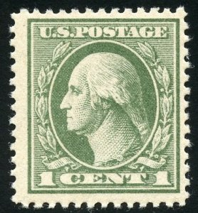 United States Scott 536 MFNHOG - Washington - SCV $45.00