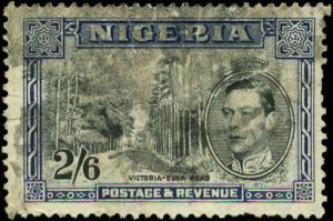 Nigeria Scott #63a Used  Perf 13 1/2