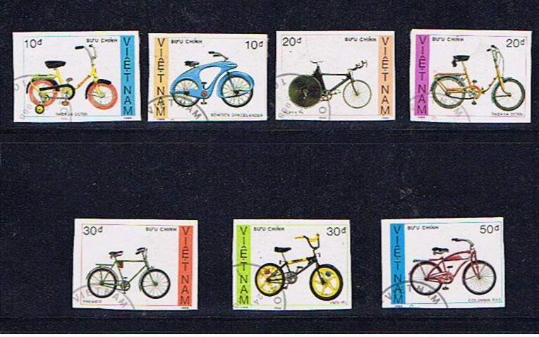 VIETNAM BICYCLES IMPERF