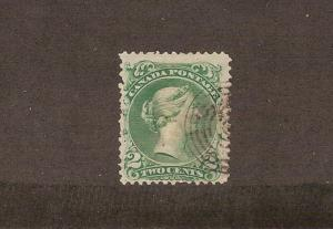 CANADA #24 STAMP USED  LOT#254