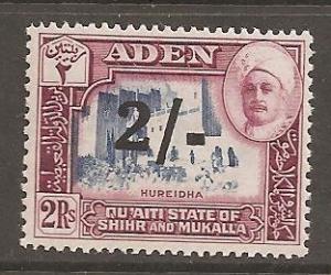 Aden Shihr & Mukalla SC 26 MNH