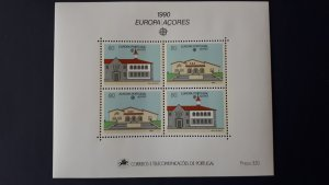 Europa CEPT - Portugal / Acores 1990. ** MNH Block