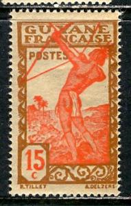French Guiana 1944: Sc. # 170C; **/MNH Single Stamp