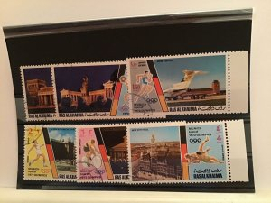 Ras Al Khaima Múnich  1972 olympic   stamps  R21959