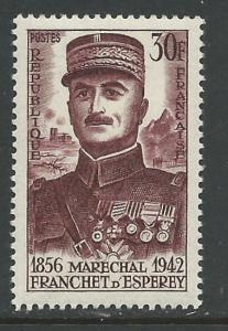 France # 799  Marshal d'Esperey    (1)   VLH Unused