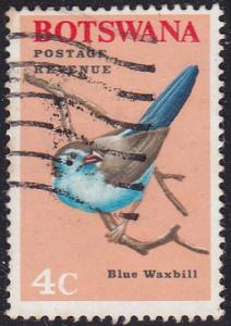 Botswana 1967 SG223 Used
