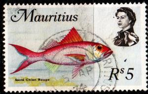 MAURITIUS [1969] MiNr 0347 Y ( O/used ) Fische