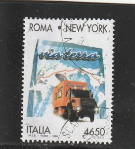 Italy  Scott#  2078  Used  (1996 Trans-Continental Drive)