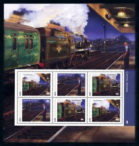 [93263] Burundi 2012 Railway Train Eisenbahn Souvenir Sheet MNH